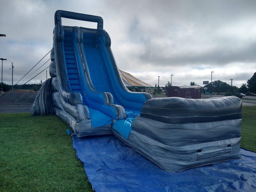 Large inflatable water slide rental springfield missouri