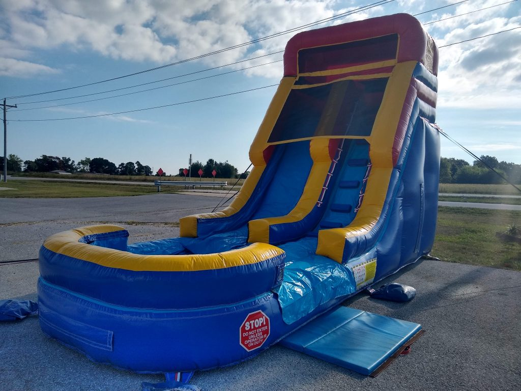 Commercial inflatable water slide rental springfield missouri