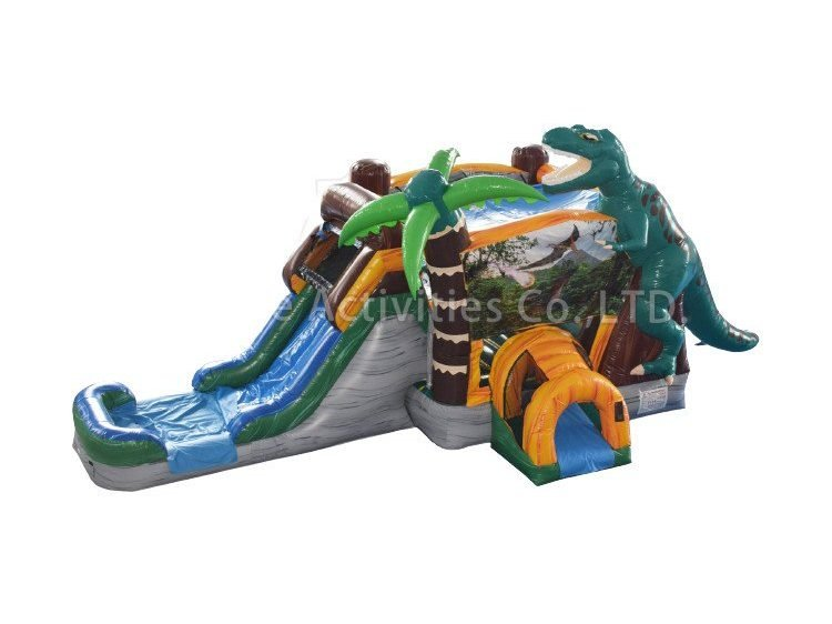 Dinosaur Bounce house with slide rental springfield missouri