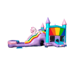 Unicorn Bounce house with slide Rental Springfield