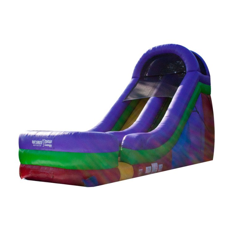18ft Rainbow Slide
